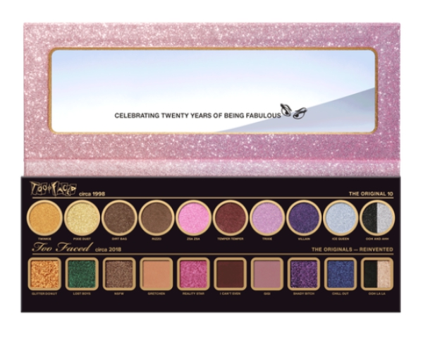 Then & Now Too Faced