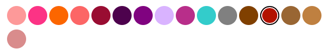 colores avon prismatic
