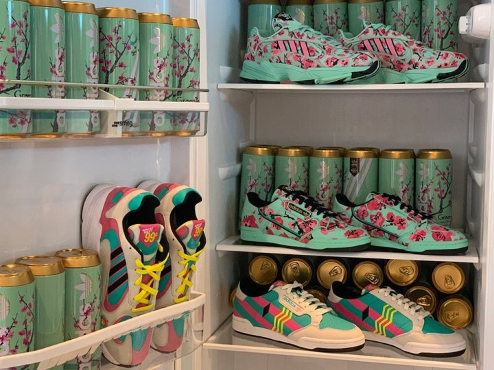 arizona iced tea x adidas originals