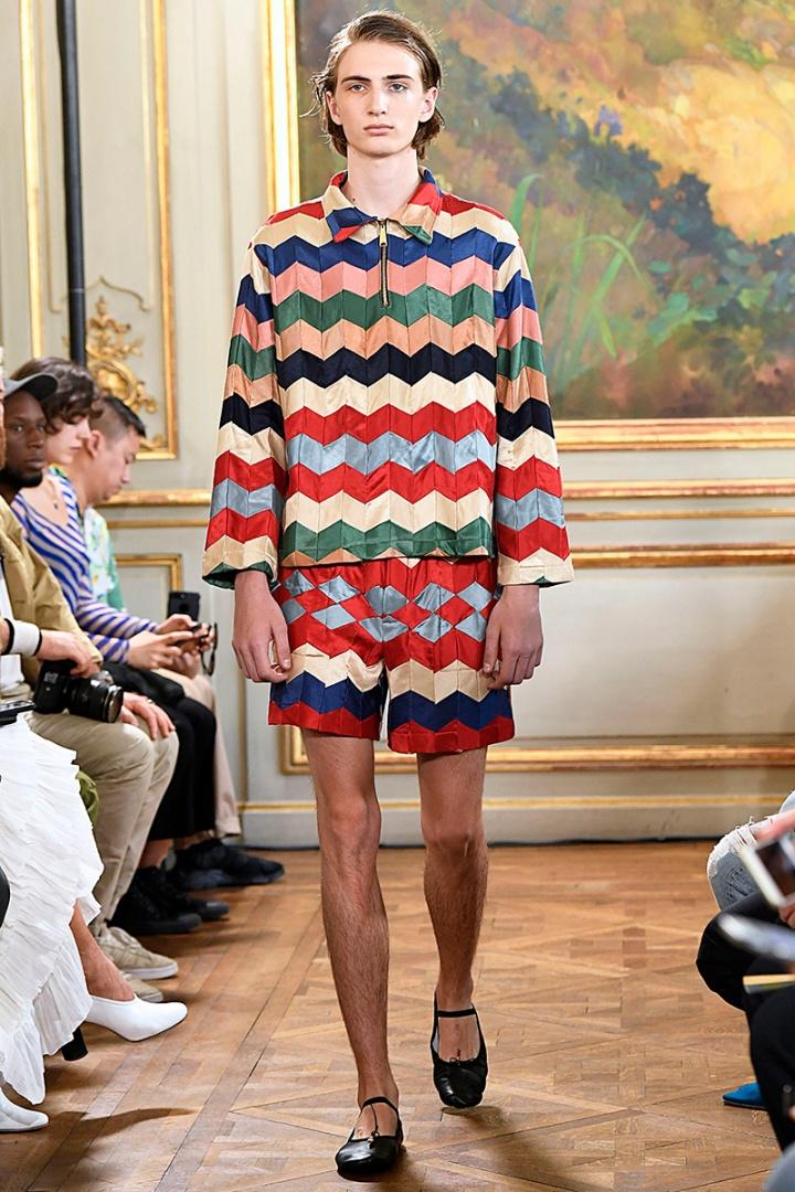Bode : Runway - Paris Fashion Week - Menswear Spring/Summer 2020