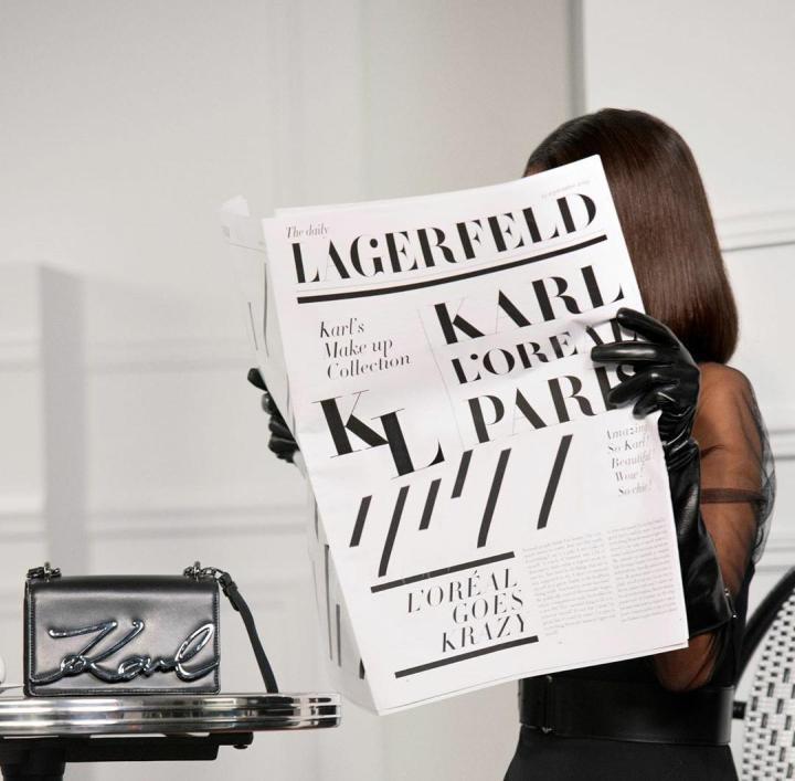 L'oreal lanzará una colección de maquillaje inspirada en KarlLagerfeld