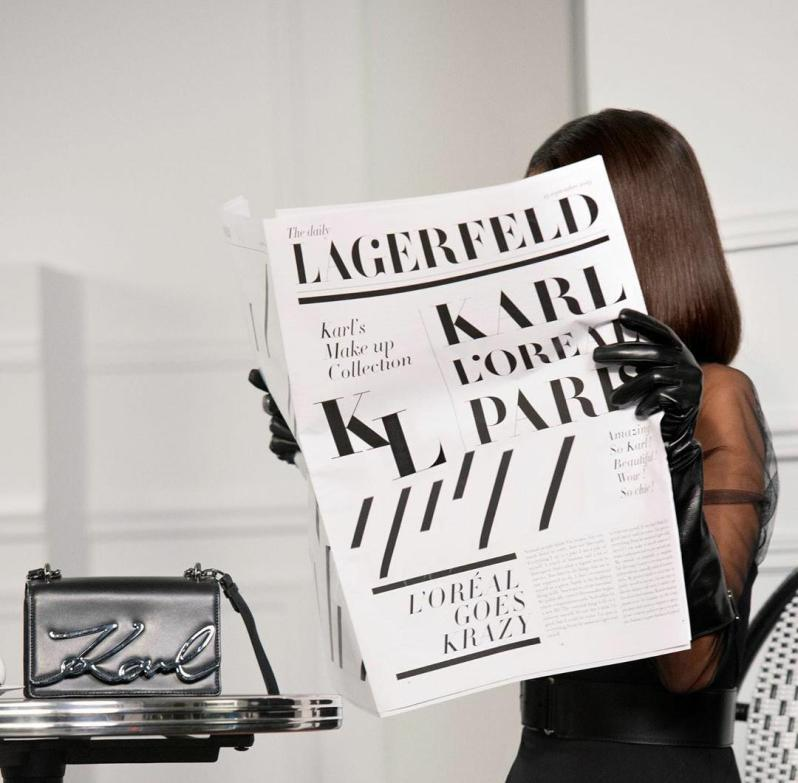 loreal x karl lagerfeld