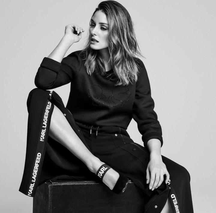 Olivia Palermo y Karl Lagerfeld juntos en unacolección