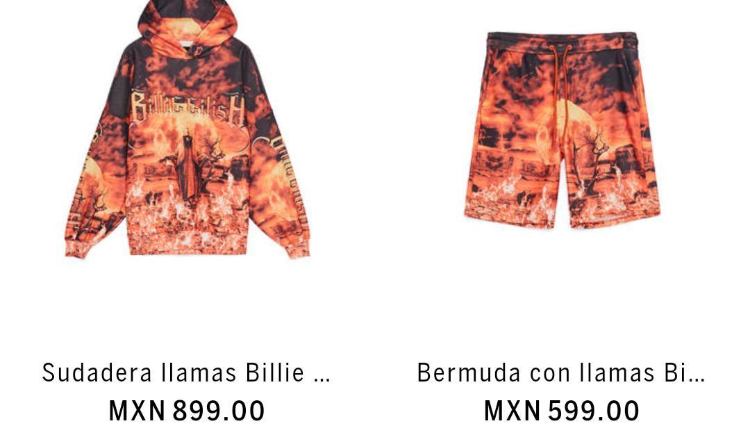 Billie Eilish x Bershka