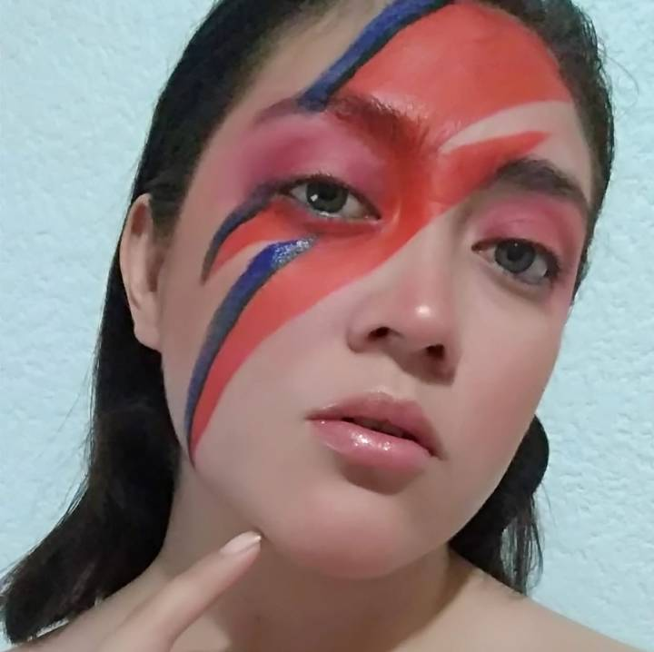 maquillaje bowie