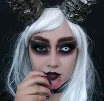maquillaje demonio