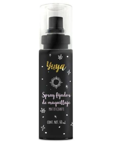 Yuya lanza un spray fijador de maquillaje 2 en 1 y lo debesprobar