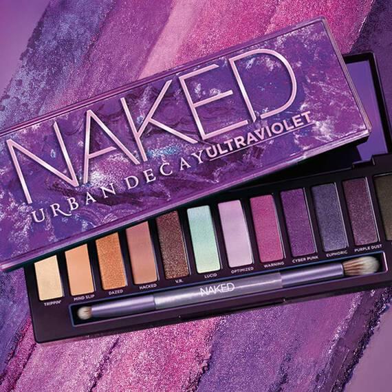 Urban Decay le apuesta al morado con su última paleta de sombras: NakedUltraviolet