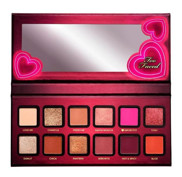 Amor Caliente X Too Faced: La nueva paleta de sombras en colaboración conMariale