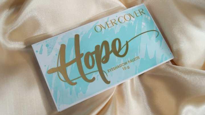 Hope x Over Cover: La paleta de sombras con los mejores deseos para este2021