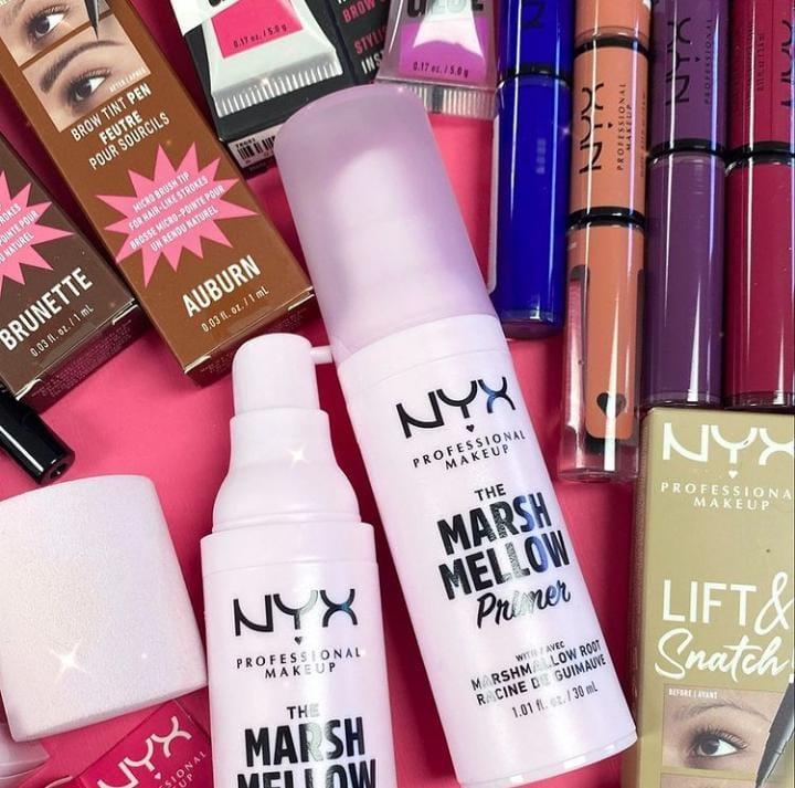 El delicioso malvavisco que podrás llevar en tu piel es de Nyx Cosmetics: Marshmallow SmoothingPrimer