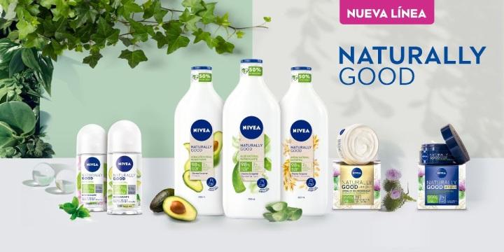 Nivea Naturally Good: La línea sustentable con fórmula vegana, hecha con hasta 99% de ingredientesnaturales