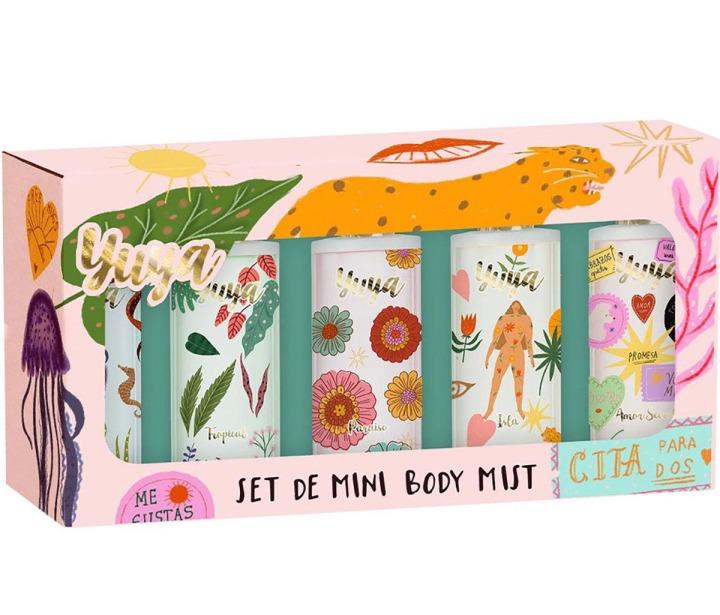 Yuya lanzó un Set de Mini Body Mist ideal para que los lleves contigo a dondequieras