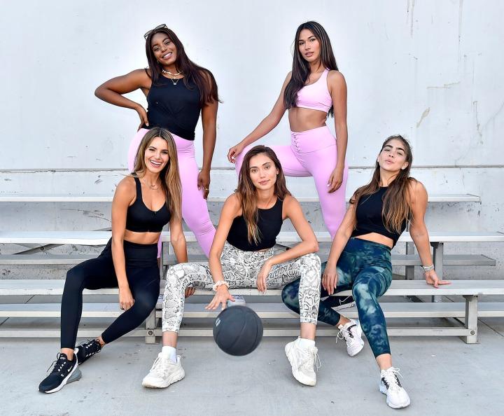 Victoria's Secret lanza su colección deportiva On Point de la mano de inspiradorasatletas